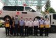 Đồng Nai tiếp nhận 3 xe cứu thương hỗ trợ phòng, chống dịch covid-19