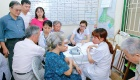 Chính sách xã hội: Quan tâm chăm lo người cao tuổi kịp thời