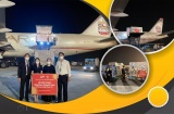 Hayat-Vax vaccine Covid-19 sản xuất tại UAE đã về tới Hà Nội