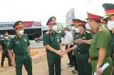 Trung tướng Ngô Minh Tiến kiểm tra công tác phòng, chống dịch tại Đồng Nai