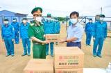 Bộ CHQS tỉnh Đồng Nai thăm và tặng quà bệnh viện dã chiến số 11