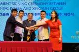 Lễ ký kết Thỏa thuận hợp tác chiến lược toàn diện giữa TẬP ĐOÀN MISO INC KOREA VÀ TẬP ĐOÀN XINGYUN