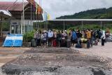 Thừa Thiên Huế: Tiếp nhận và cách ly 463 lưu học sinh Lào trở lại nhập học