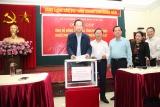 Bộ Lao động - Thương binh và Xã hội quyên góp ủng hộ đồng bào các tỉnh miền Trung...