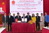 Thừa Thiên Huế: Ký kết Biên bản Ghi nhớ về việc nghiên cứu đầu tư Trung tâm Thương mại AEON MALL