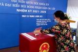 Hơn 69 triệu cử tri bỏ phiếu bầu đại biểu Quốc hội và đại biểu HĐND các cấp