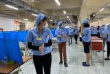Bắc Giang đề nghị các tỉnh phối hợp nhận lao động hết cách ly