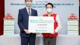 Tổng công ty Phân phối Nông thủy sản và Thực phẩm Hàn Quốc aT tặng 1.800 phần quà cho bệnh nhân Covid-19 tại Hà Nội