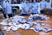 Bắt giữ hơn 60.000 viên thuốc điều trị Covid-19
