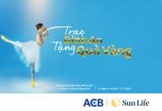 Sun Life tung chương trình khuyến mãi hấp dẫn: 'Trao bình an, tặng quà vàng'