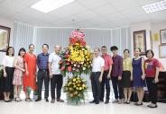 Lãnh đạo Bộ Lao động – Thương binh và Xã hội gửi lẵng hoa chúc mừng Tạp chí Lao động và Xã hội nhân Ngày Báo chí cách mạng Việt Nam