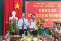 Đồng chí Lê Nguyên Hồng giữ chức vụ Bí thư Đảng ủy Sở Lao động- Thương binh và Xã hội tỉnh Quảng Trị, nhiệm kỳ 2020 - 2025