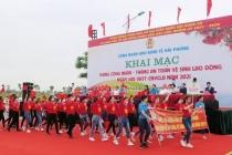 Liên đoàn lao động thành phố Hải Phòng: Đẩy mạnh tuyên tuyền nâng cao nhận thức về an toàn, vệ sinh lao động trong công nhân viên chức lao động