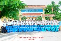 Có một ngôi trường bên chân sóng Tam Giang…