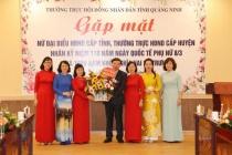 Quảng Ninh: Nỗ lực thực hiện các mục tiêu bình đẳng giới, vì sự tiến bộ của phụ nữ