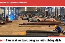 Kết cấu thép Tân Khánh dẫn đầu chất lượng nhà thép tiền chế