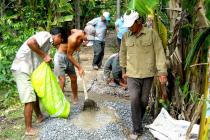 Hội Cựu chiến binh Duyên Hải: Giúp nhau phát triển kinh tế thoát nghèo bền vững