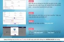 TPHCM: Thông báo thay đổi phương thức tiếp nhận thông tin điều chỉnh trên Sổ Sức khỏe điện tử