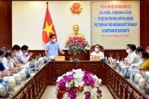 Thứ trưởng Lê Tấn Dũng: Bến Tre cần đẩy nhanh các chính sách hỗ trợ người dân gặp khó khăn vì dịch Covid-19