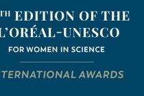 Giải thưởng L'Oréal - UNESCO vì sự phát triển phụ nữ trong khoa học lần thứ 24