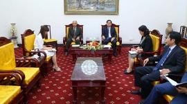 Thứ trưởng Nguyễn Bá Hoan tiếp Đại sứ Ả-rập Xê-út tại Việt Nam