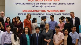 """""""The State of Gender Equality and Climate Change in Vietnam today"""" launched"""
