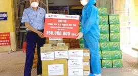 Huyện Việt Yên tiếp nhận thiết bị y tế hỗ trợ điều trị Covid 19