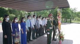 Quảng Trị dâng hương tưởng niệm các anh hùng liệt sĩ