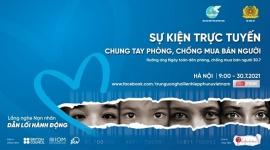 Cuộc chiến chống lại nạn mua bán người: Lắng nghe nạn nhân – Dẫn lối hành động