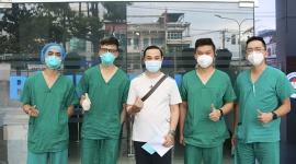 Bệnh viện 1A điều trị thành công cho sinh viên người nước ngoài mắc Covid – 19