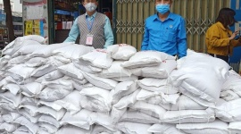 Rice, canvas houses, generators to support Covid-19 hit people