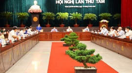 Hội nghị lần thứ 08 Ban chấp hành Đảng bộ TPHCM khóa XI