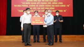Tập đoàn Điện lực Việt Nam tiếp tục ủng hộ 500 triệu đồng chung tay phòng chống Covid 19
