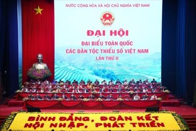 Khai mạc Đại hội Đại biểu toàn quốc các dân tộc thiểu số Việt Nam