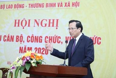 """Bộ trưởng Đào Ngọc Dung: """"Toàn ngành đóng góp quan trọng vào thành công chung của đất nước"""""""
