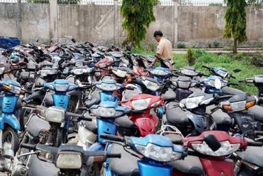 Hà Nội: Công an phường Nghĩa Đô thông báo tìm chủ xe
