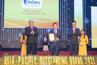 VitaDairy - Thương hiệu Tiêu biểu châu Á - Thái Bình Dương 2021