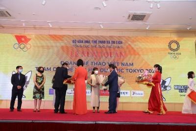 Herbalife Nutrition và Ủy ban Olympic Việt Nam tổ chức lễ xuất quân cho Đoàn thể thao Việt Nam tham dự Olympic Tokyo 2020